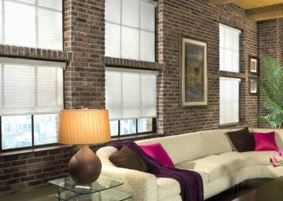decoration-white-blinds-galore-with-brick-wall-and-white-sofa-and-glass-side-table-plus-table-lamp-also-wall-art-for-living-room-design-ideas-beautiful-blinds-galore-for-window