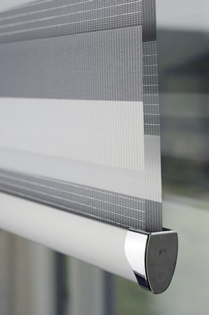 MIrage-Blinds chrome bottom
