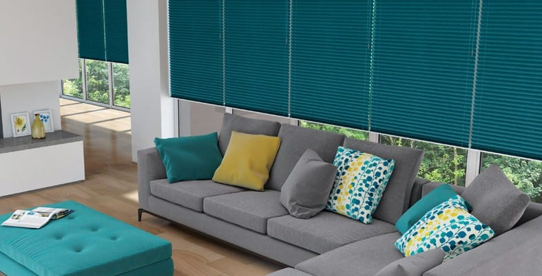 Pleated Blinds in Bolton, Wigan & Chorley