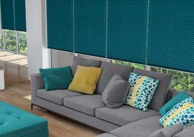 New Pleated Local Blinds
